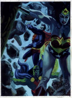 JLA Seven Caskets art