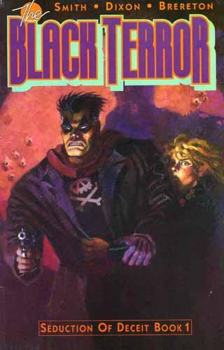 Black Terror issue 1 cover
