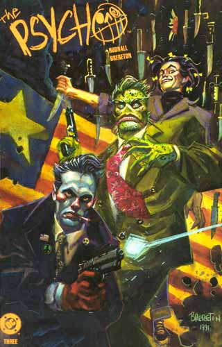 The Psycho issue three cover