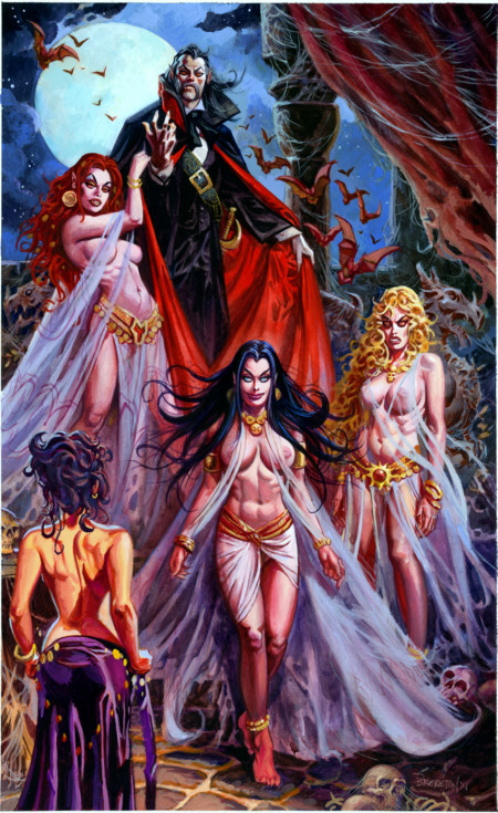 Exclusive 2011 'Dracula and Brides' Print at Booth 4903