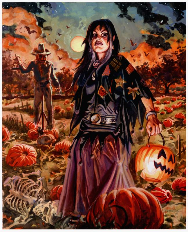 Evening Death and Pumpkins 0ct 6 06.jpg