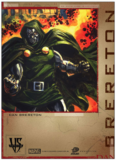Doctor Doom Versus card art